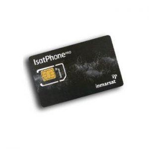 IsatPhonePRO SIM-kort 250 Minutter