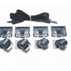 Hjulsett For Peli Cube Case 0350 Og 0370 02
